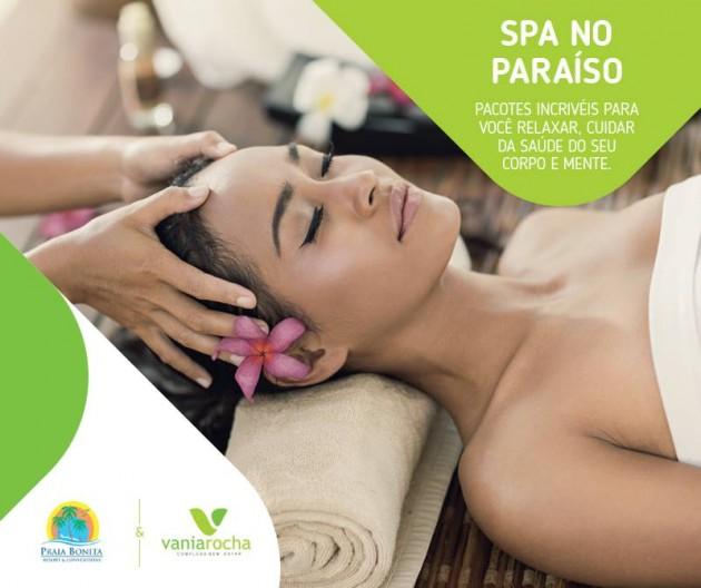Praia Bonita resort & Convention apresenta neste sábado (17) o Spa no paraiso para convidados.