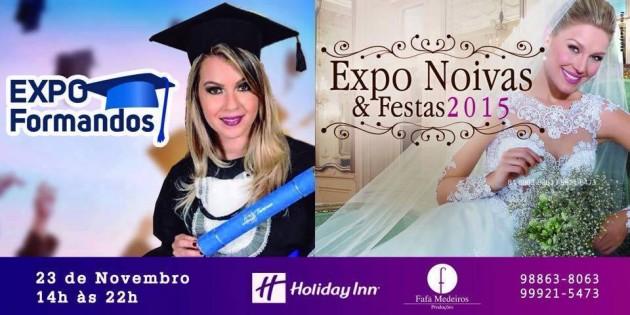 """Natal recebe o maior evento de formando e noivas do Rio Grande do Norte, a """"Expo Formando, Noivas & Festas"""" será dia 23 no Hotel Holliday Inn Natal (Arena das Dunas)."""
