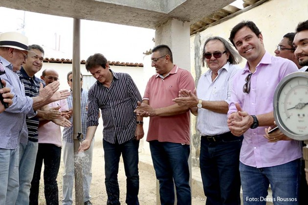 Governo apresenta soluções para o abastecimento de água em Caicó e entrega adutora no distrito da Palma.