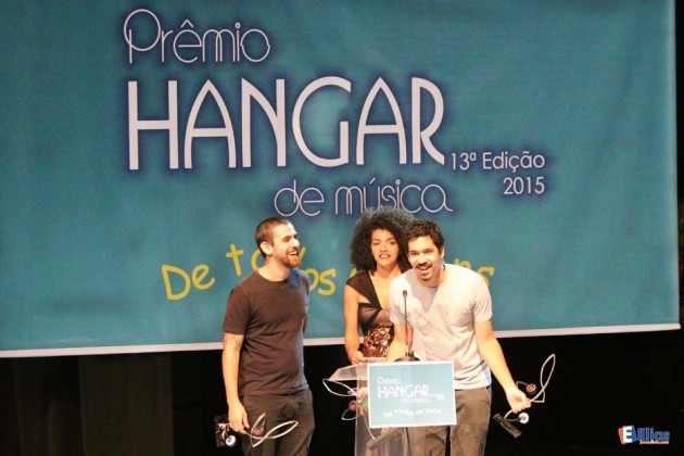 A Banda Mahmed foi o destaque do prêmio HANGAR de Música com quatro estatuetas .