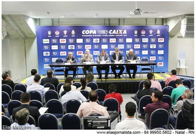 Natal recebe Torneio Internacional de Futebol Feminino com transmissão ao vivo pela BAND para todo Brasil.
