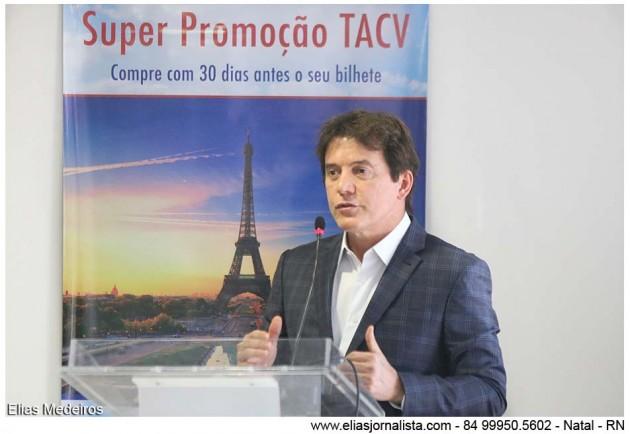 Robinson Faria lança em Lisboa a maior campanha de divulgação realizada pelo RN na Europa.