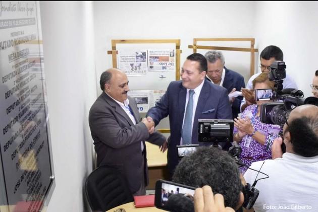 Ezequiel Ferreira é eleito pela imprensa o Parlamentar do Ano de 2015.