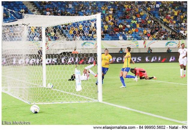 Na Arena das Dunas, Seleção comandada por Vadão passeia diante de caribenhas, e camisa 10 atinge marca histórica de 98 gols com a camisa verde-amarela
