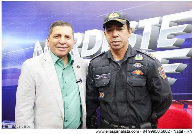 O Nordeste Urgente com Luiz Almir recebeu o Major Lisboa, comandante do 4º Batalhão de Polícia Militar da Zona Norte.