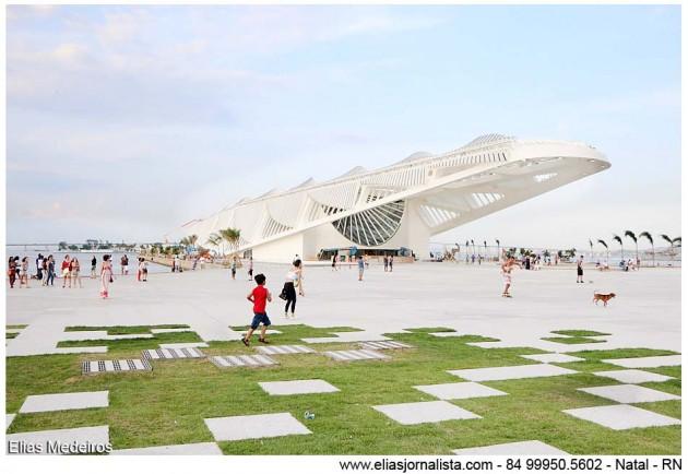 Inauguração do museu, na Praça Mauá, será nos dias 18 e 19 de novembro. Espaço terá 30 mil metros quadrados, jardins, espelho d'água e ciclovia.