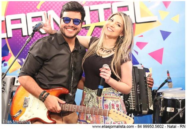 O cantor Pedro Lucas participou do programa Tudo de Priscila Freire.