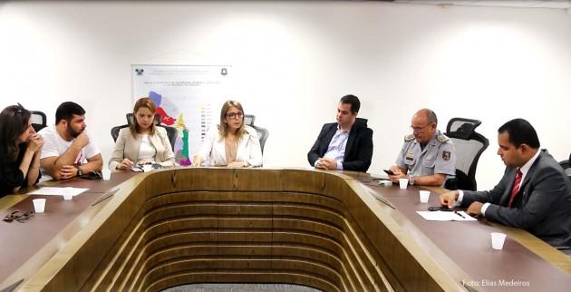 O presidente da OAB/RN, Paulo Coutinho, participou da reunião.