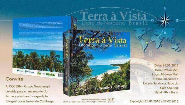 """""""Terra à vista"""" livro e exposição de Fernando Chiriboga e Revista Foco Poty terão lançamentos simultâneos."""