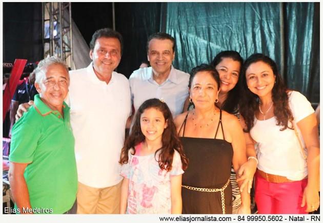 Familiares de dona Francisca