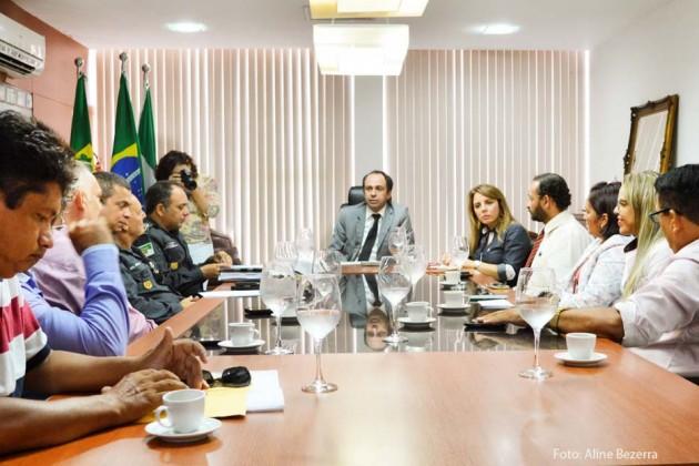 Governo reforça segurança e orienta população de São Gonçalo do Amarante.