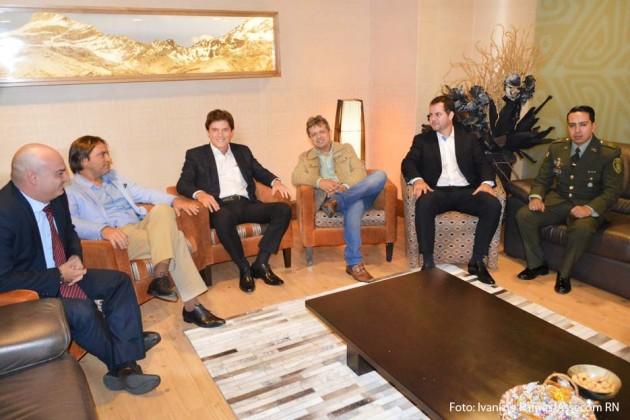 Governador Robinson Faria chega a Colômbia para cumprir agenda oficial