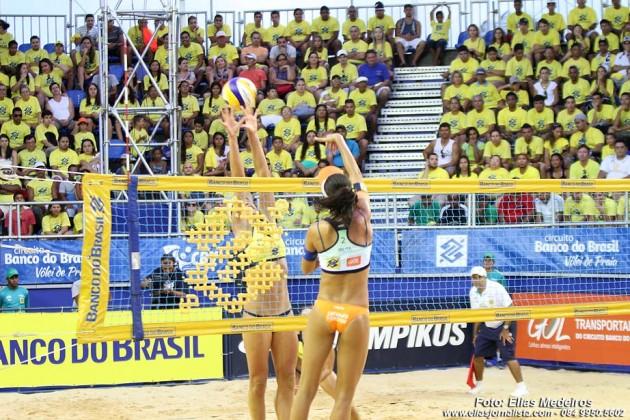 Arena na Praia do Forte recebe melhores duplas do país de 17 a 21 de fevereiro.