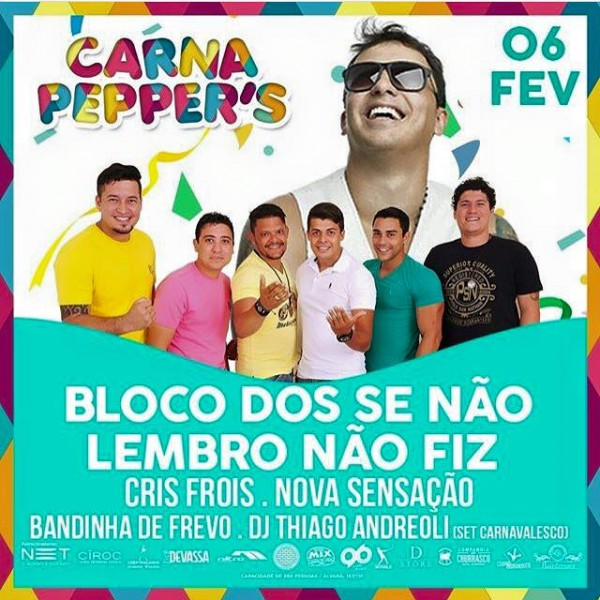 Programação da Pepper's Hall começa hoje com shows de Luan Carvalho e Som e Balanço.