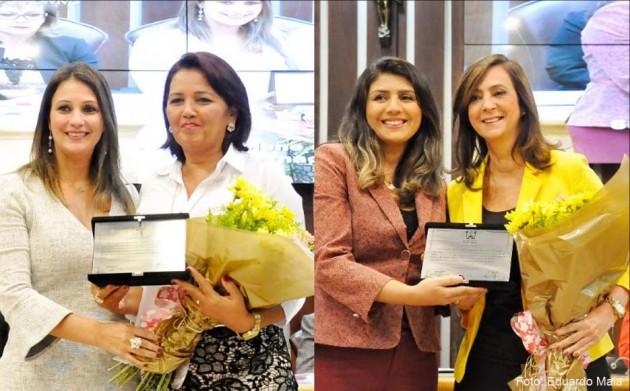 Sessão Solene na Assembleia homenageia mulheres potiguares  .