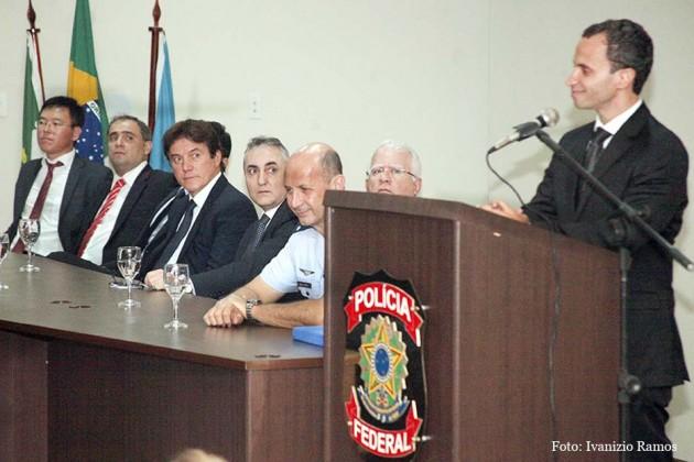 Governador prestigia posse de superintendente da PF.