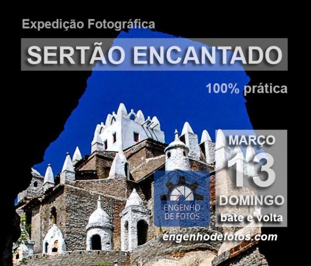 Castelo de Zé dos Montes em Sítio Novo, mirantes na Serra da Tapuia e o pôr do sol em Santa Cruz do Inharé.
