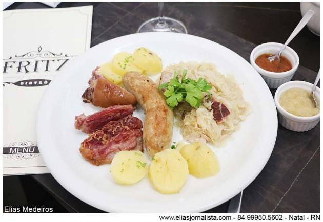 Fritz Bistrô lança novo menu especial para a hora do almoço.