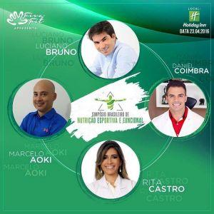 Natal sedia em abril o I Simpósio Brasileiro de Nutrição Esportiva e Funcional.
