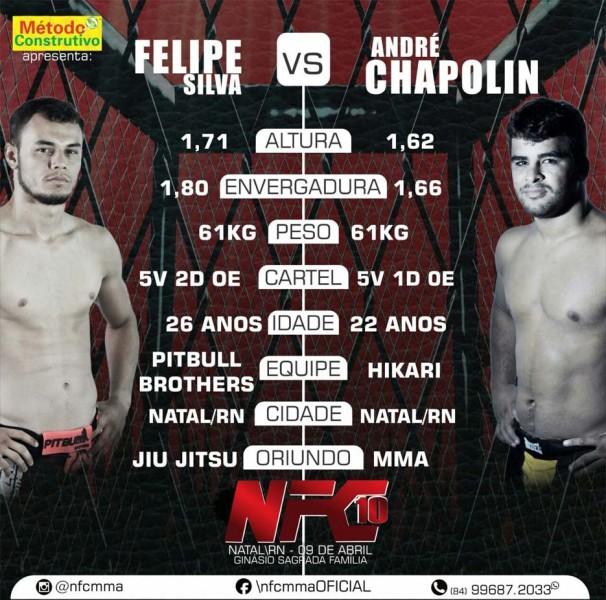 Combates do NFC 10 prometem marcar o MMA potiguar,