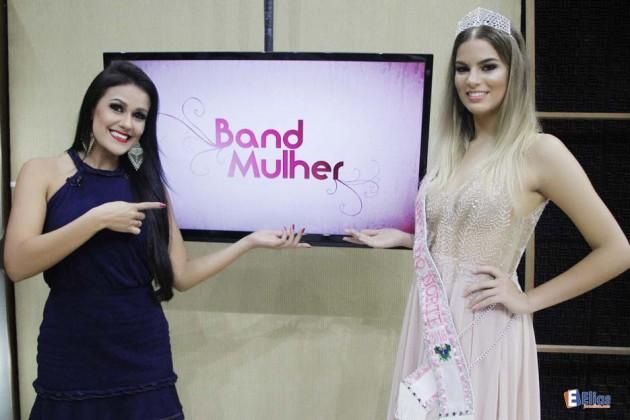 Miss Teen RN 2016 participa do Band Mulher