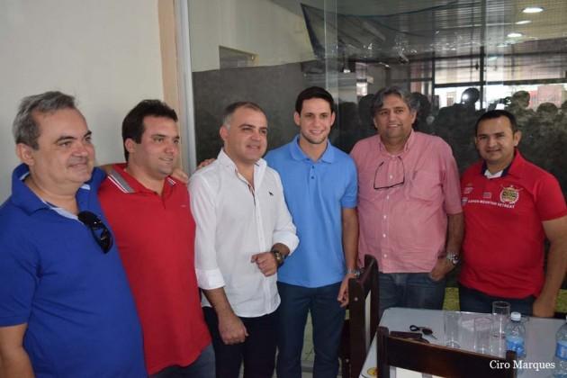 Rafael Motta reúne PSB do Seridó e visita Santa Cruz e Serra Negra do Norte.