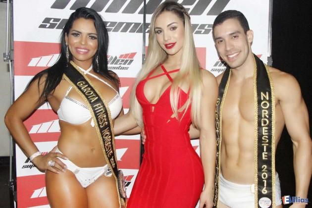 Josi Rocha e Alexandre Melo foram os vencedores do Garota e Garoto Fitness etapa nordeste.