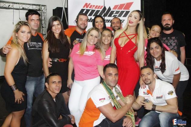 Equipe da organização do concurso Garota e Garoto Fitness etapa nordeste 2016 com patrocínio da New Millen.