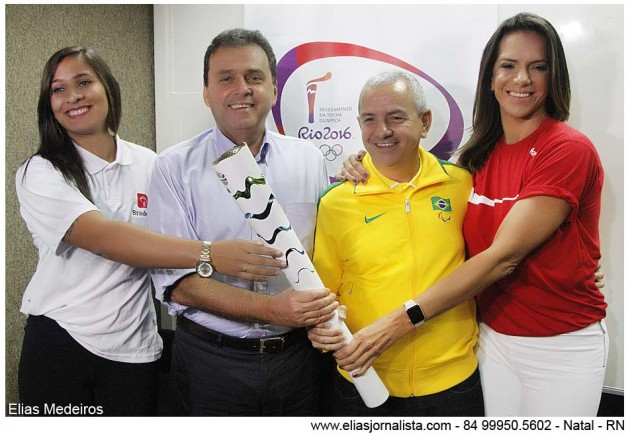 Prefeitura do Natal apresenta a programação da Tocha Olímpica na cidade.