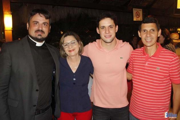 Rafael Motta participa de lançar de lançamento da festa de São Pedro Apóstolo.