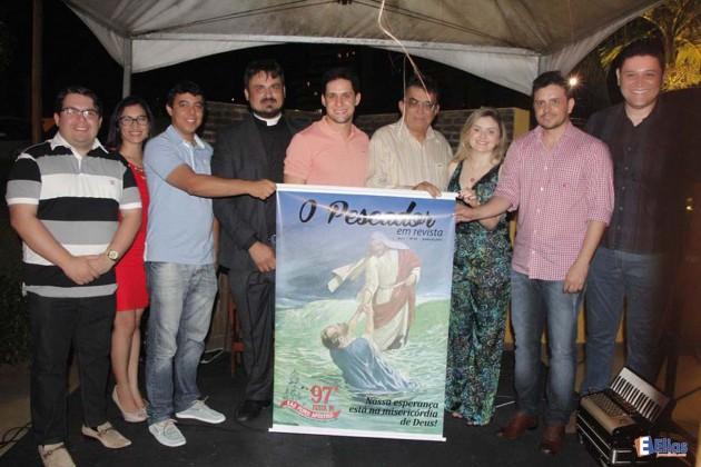 Lançamento da 97ª festa de São Pedro e revista o Pescador.