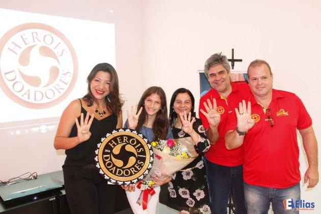 """Campanha """"Heróis Doadores"""" foi lançada na noite desta terça na sede da Inter TV Cabugi."""