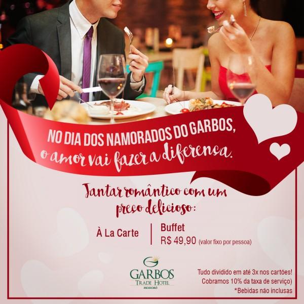 No Dia dos Namorados o amor faz a diferença no Hotel Garbos.