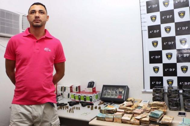 Secretaria de Segurança detém traficante suspeito de chefiar ataques no RN.