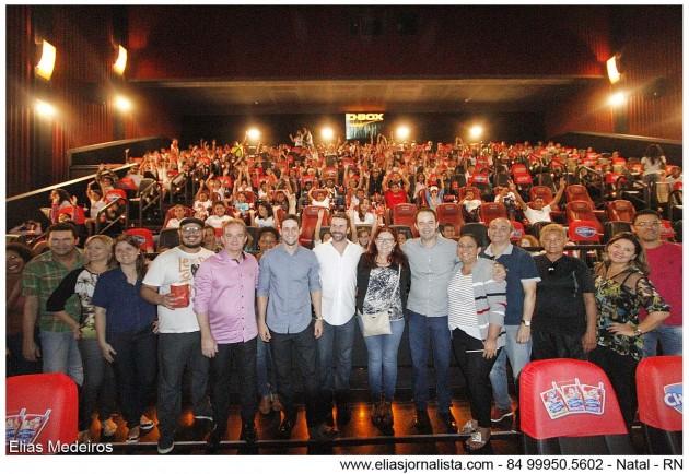 Motion Picture Association, Cinemark e associações beneficentes organizam sessão de cinema na capital potiguar.