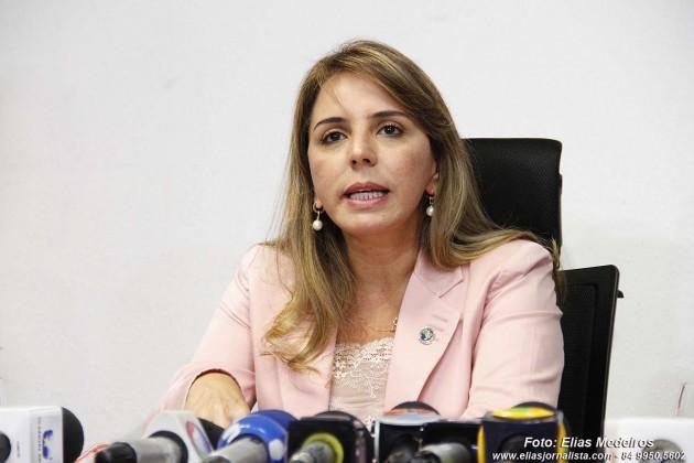 Kalina Leite, ex-secretária de Segurança Pública e Defesa Social, assume secretaria extraordinária para Gestão de Projetos.