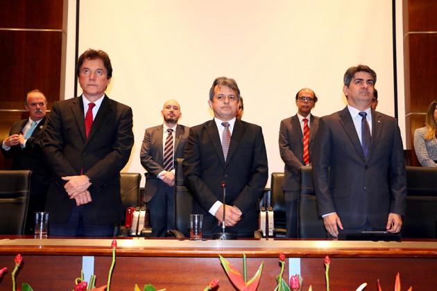 Governador participa de posse do novo presidente do Conselho Nacional de Procuradores-Gerais. (foto: Ivanizio Ramos).