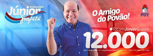PDT homologa candidatura Carlos Eduardo e Junior Grafith lança Comitê do Povão