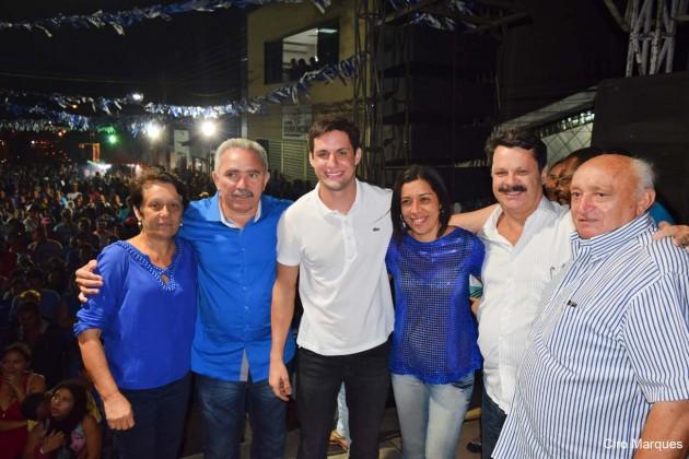 Rafael Motta leva apoio a Lana em João Câmara e a Clécio Azevedo em Bom Jesus.