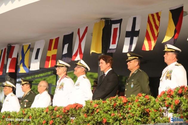O Vice-Almirante Renato Rodrigues de Aguiar Freire assumiu o Comando do 3º Distrito Naval.