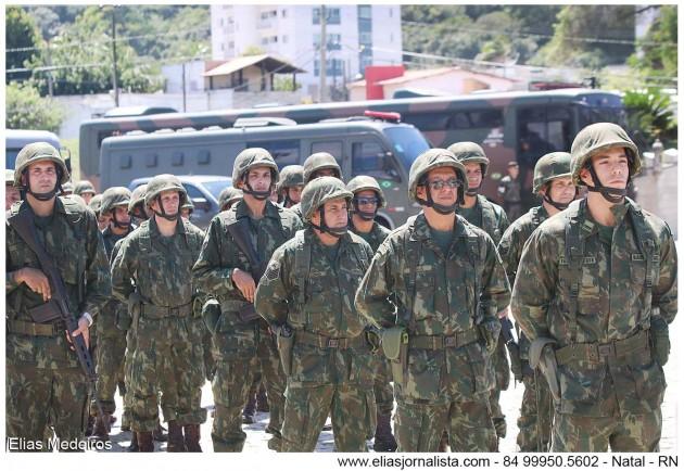 Marinha do Brasil participa de ações de combate à violência no Rio Grande do Norte