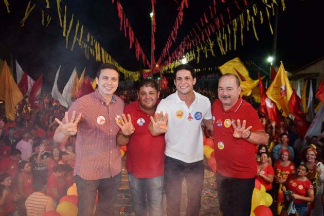 Presidente estadual do PSB, Rafael Motta visita 11 municípios no fim de semana. (Foto: Ciro Marques).