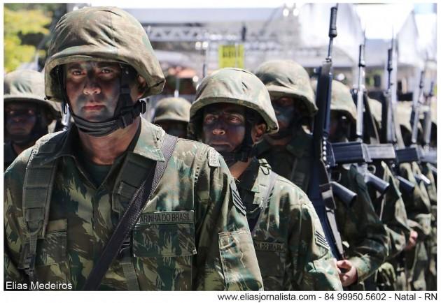 Militares do Grupamento de Fuzileiros Navais de Natal retornam após apoio aos Jogos Olímpicos – 2016