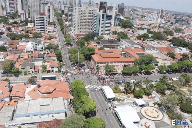 Desfile 7 de setembro atrai milhares de pessoas em Natal .