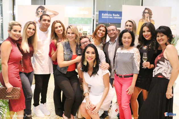 Imprensa marca presença no lançamento do circuito Moda Verão 2017 Praia Shopping.