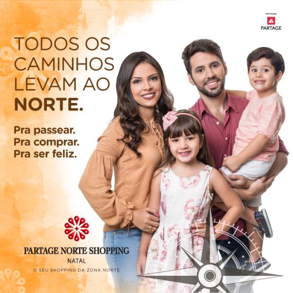 Partage Norte Shopping lança campanha institucional.
