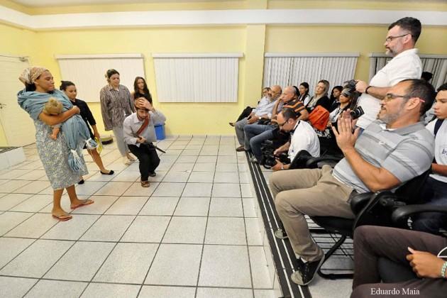 Teatro é homenageado na terceira edição do projeto Convite à Cultura.