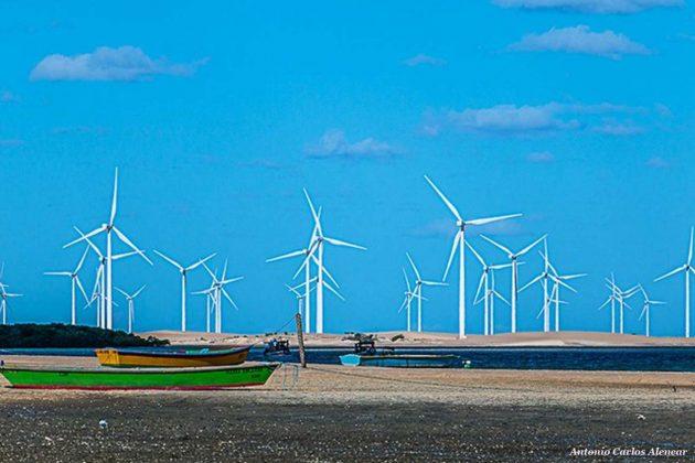 Registro da Praia de Galinhos - RN. Foto: Antonio Carlos Alencar.