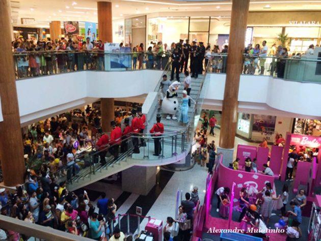 Evento anima Dia das Crianças na área interna do Natal Shopping e domingo ocorre a mini micareta na área externa.