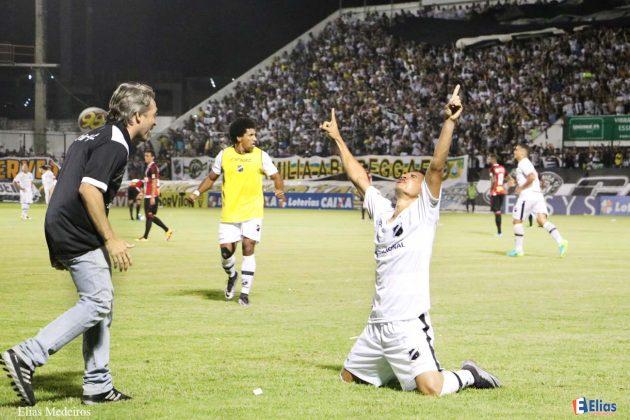 Em jogo tenso, ABC-RN vence Botafogo-SP e conquista acesso para Série B.